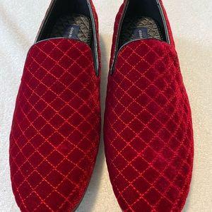 BRAND NEW Super Stylish Men's Red Velvet Loafers